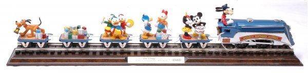 2856: Pride Lines Disney Mickeys B-Day Express MINT