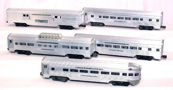 1: Lionel aluminum 2530, 2531, 2532, 2533 and 2534