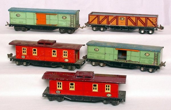 3: Lionel prewar  freight cars1717,1719, and 1722
