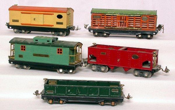 5: Lionel prewar freight 812,813,814,816, and 817