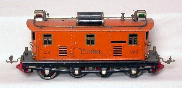 13: Lionel prewar 256 loco in orange