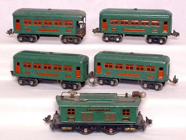 14: Lionel prewar 253, 607, 607 and 608