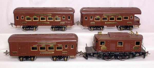 15: Ives wide gauge 3236, 184, 185 and 186