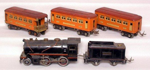 16: Lionel prewar 258, 257T, 603, 603 and 604