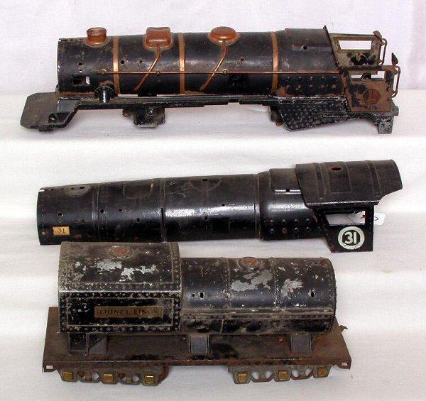 20: Lionel standard gauge 400E and 400T parts