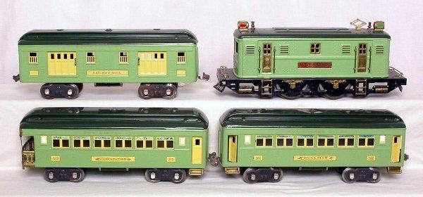 23: Lionel prewar 9E, 309, 310 and 312