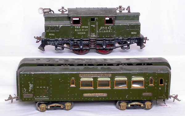 155: Ives wide gauge 3241 loco with 187, 188 and 189