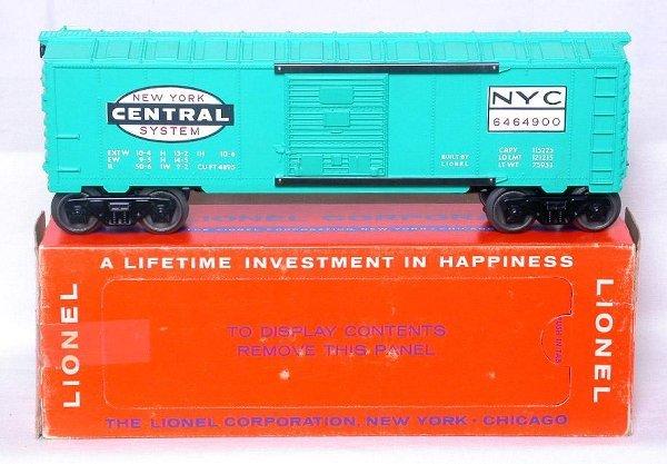422: Lionel 6464-900 New York Central boxcar in box