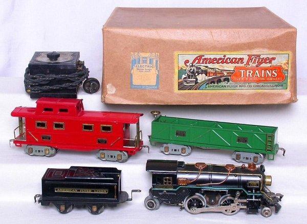 428: American Flyer prewar 7357RCT boxed set