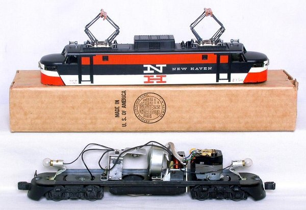 436: Mint Lionel 2350 New Haven electric in the box