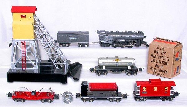 437: Lionel 1095W prewar boxed 1666E train set
