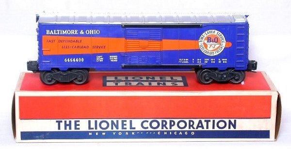442: Mint Lionel 6464-400 Baltimore and Ohio, OB