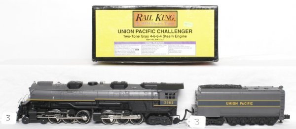 3: MTH Rail King RK-1107 U.P. Challenger in OB