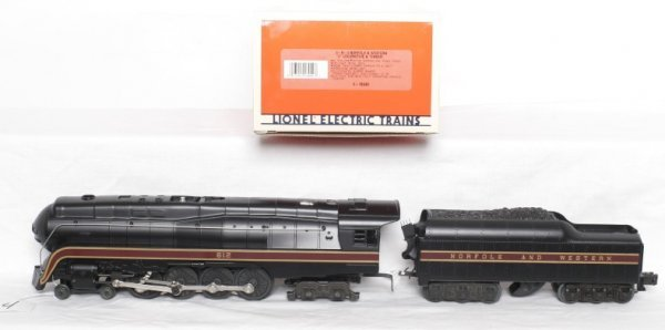 4: Lionel 18040 4-8-4 Norfolk and Western J in OB