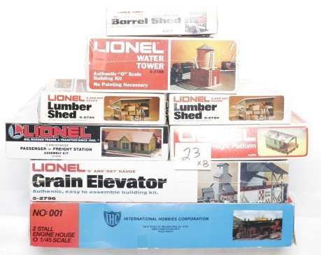 23: Lionel accessories in OBs, 2786, 2720, 2789,,,