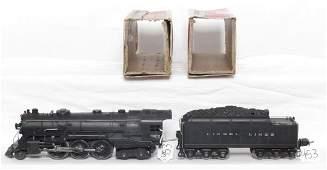 953: Lionel prewar 226E steam loco and tender