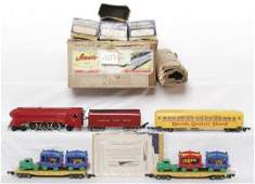 1023: American Flyer 5002T circus train set in OB