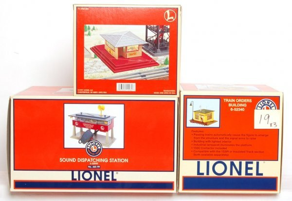 19: Lionel 12962, 52340 and 22999 in OB
