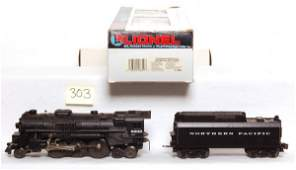 303: Lionel 18609 Northern Pacific 2-6-4 in OB