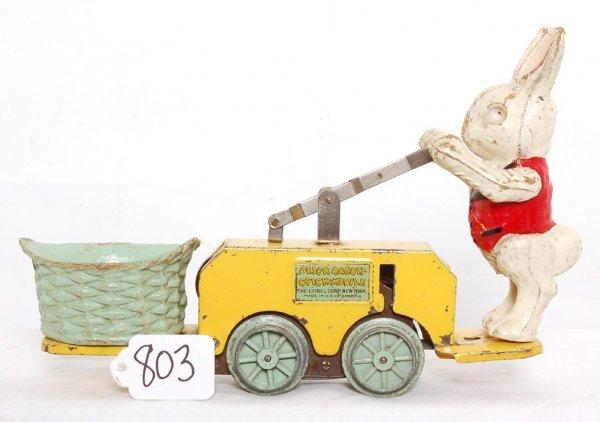 803: Lionel prewar 1103 Peter Rabbit Chick mobile