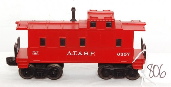 806: Tough Lionel 6357-50 caboose, father and son