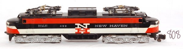 808: American Flyer 499 New Haven electric