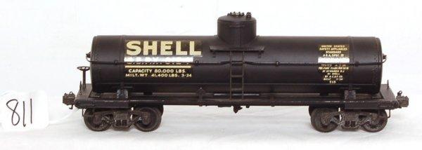 811: Nice Lionel prewar scale 715 Shell tank car