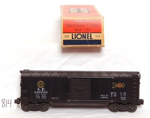 814: Lionel 6464-225 Southern Pacific boxcar, OB