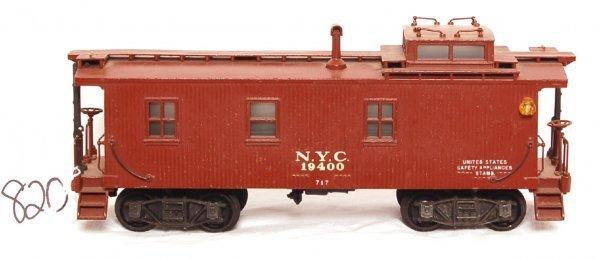 820: Nice Lionel prewar 717 scale NYC caboose