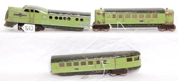 822: Tough green Lionel 636 City of Denver
