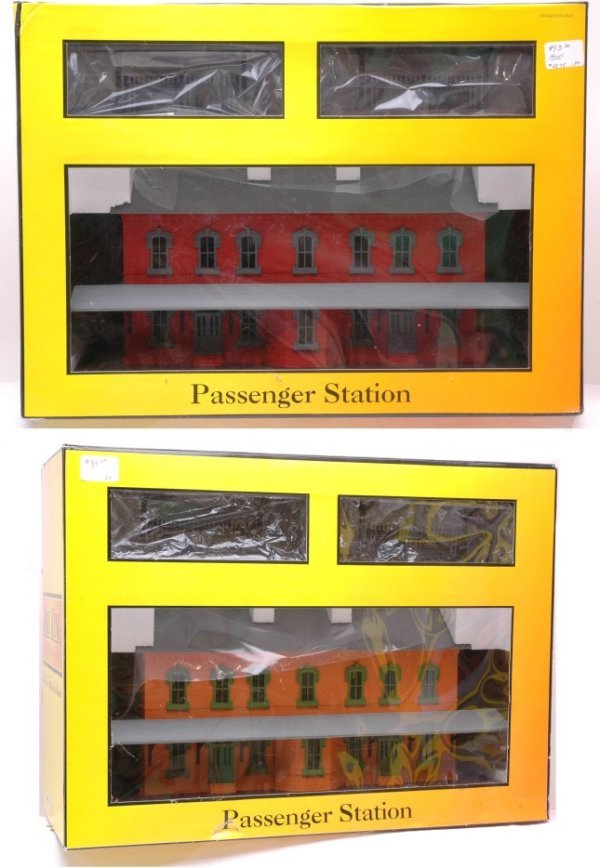 2008: Rail King 30-9014 and 30-9005 MINT Boxed