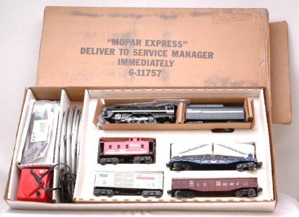 2011: Lionel 11757 Mopar Express Set MINT Boxed