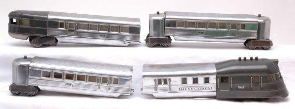 2013: Lionel 616 Flying Yankee Chrome Passenger Set