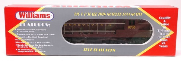 2014: Williams FM-107 Pennsylvania Loco MINT Boxed