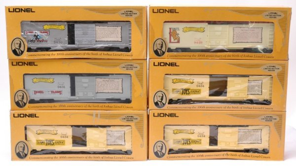 2019: Lionel 9429 9430 9431 and Three 9434 MINT Boxed