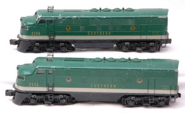 2021: Lionel 2356 Southern F3 AA Diesels