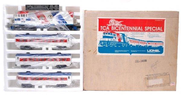 2023: Lionel TCA Bicentennial Pass Set in Set Box