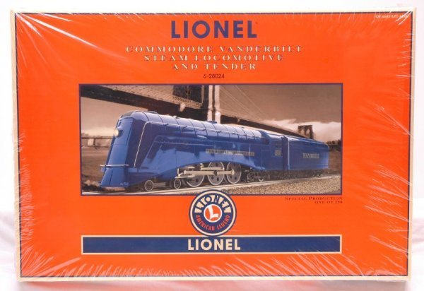 2347: Lionel 28024 Commodore Vanderbilt Loco MINT Boxed