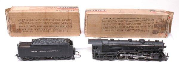 2350: Lionel 700E Hudson 700W Tender Like New Boxed