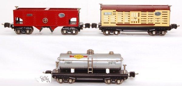806: Nice Lionel 2813, 2815 and 2816 nickel trim