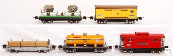 807: Lionel 811, 814, 2815, 2817 and 2820, nickel