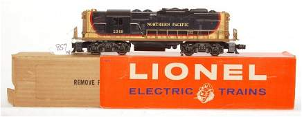 857: Lionel 2349 Northern Pacific GP, OB