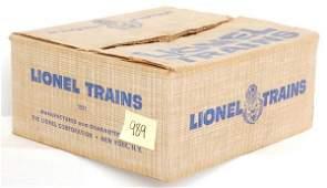 989: Nice Lionel set box only 1591, USMC military set
