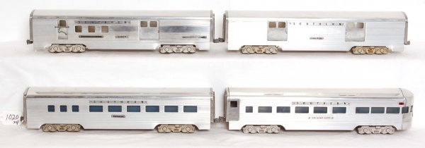 1020: Four AMT Southern passenger cars