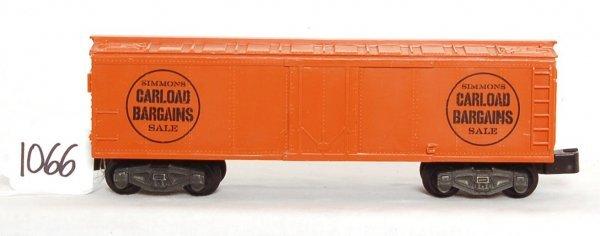 1066: Original American Flyer Simmons boxcar