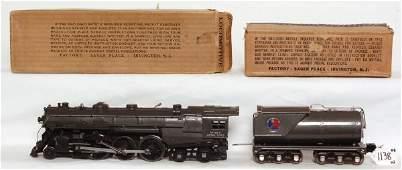 1138: Nice Lionel prewar 763E steam loco and tender OB