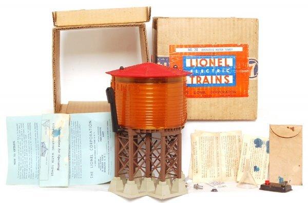 1218: Lionel No. 38 water tower in original box