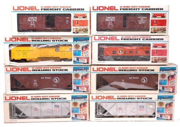 2009: Lionel FARR 9366 9419 UP 6102 6438 GN Boxed