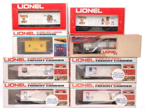 2012: Lionel 9359 9360 9362 9052 9150 9179 Boxed