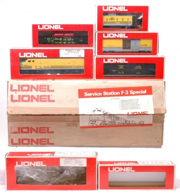 2015: Lionel D and RG 8465 9144 9739 Freight Set Boxed
